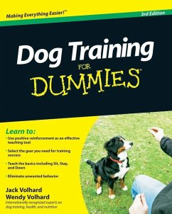 Dog Training For Dummies (eBook, PDF) - Volhard, Jack; Volhard, Wendy