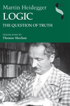 Logic (eBook, ePUB) - Heidegger, Martin