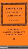 Frontinus: De Aquaeductu Urbis Romae (eBook, PDF)