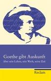 Goethe gibt Auskunft