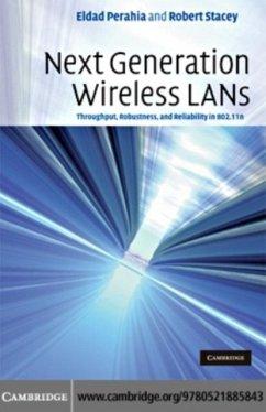 Next Generation Wireless LANs (eBook, PDF) - Perahia, Eldad; Stacey, Robert