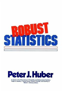 Robust Statistics (eBook, PDF) - Huber, Peter J.