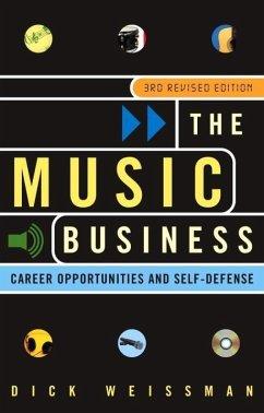 The Music Business (eBook, ePUB) - Weissman, Dick