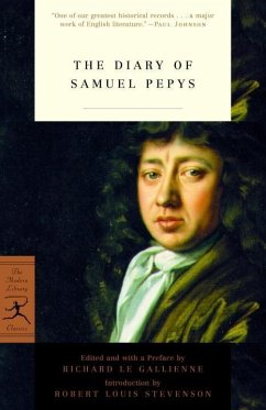 The Diary of Samuel Pepys (eBook, ePUB) - Pepys, Samuel