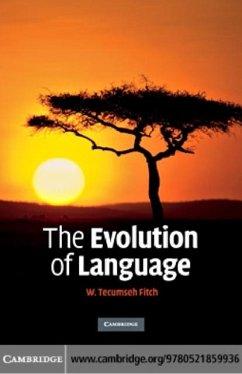 Evolution of Language (eBook, PDF) - Fitch, W. Tecumseh