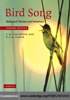 Bird Song (eBook, PDF) - Catchpole, C. K.