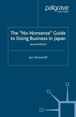 The 'No-Nonsense' Guide to Doing Business in Japan (eBook, PDF) - Woronoff, J.