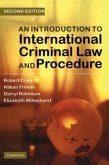 Introduction to International Criminal Law and Procedure (eBook, PDF)