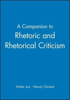 A Companion to Rhetoric and Rhetorical Criticism (eBook, PDF)