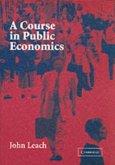 Course in Public Economics (eBook, PDF)