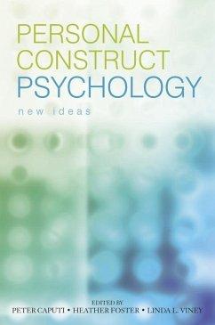 Personal Construct Psychology (eBook, PDF)