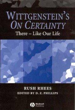 Wittgenstein's On Certainty (eBook, PDF) - Rhees, Rush