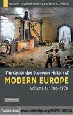 Cambridge Economic History of Modern Europe: Volume 1, 1700-1870 (eBook, PDF)