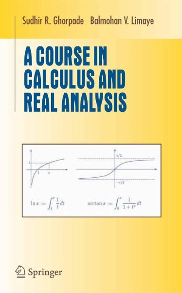 A Course in Calculus and Real Analysis (eBook, PDF)
