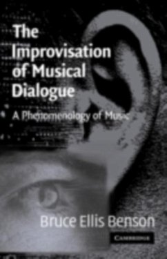 Improvisation of Musical Dialogue (eBook, PDF)