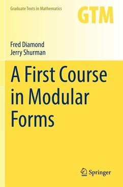 A First Course in Modular Forms (eBook, PDF) - Diamond, Fred; Shurman, Jerry