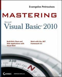 Mastering Microsoft Visual Basic 2010 (eBook, PDF) - Petroutsos, Evangelos