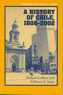 History of Chile, 1808-2002 (eBook, PDF) - Collier, Simon