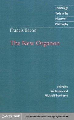 Francis Bacon: The New Organon (eBook, PDF) - Bacon, Francis