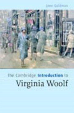 Cambridge Introduction to Virginia Woolf (eBook, PDF) - Goldman, Jane