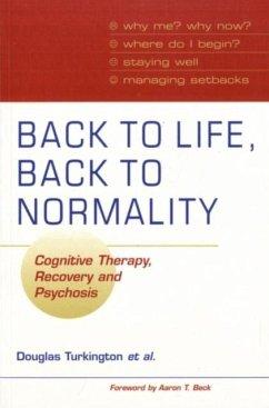 Back to Life, Back to Normality: Volume 1 (eBook, PDF) - Turkington, Douglas