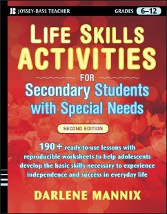 Life Skills Activities for Secondary Students with Special Needs (eBook, ePUB) - Mannix, Darlene