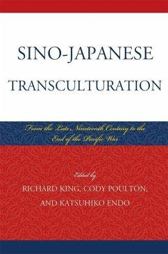 Sino-Japanese Transculturation (eBook, ePUB)