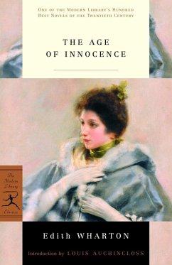 The Age of Innocence (eBook, ePUB) - Wharton, Edith