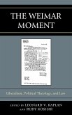The Weimar Moment (eBook, ePUB)