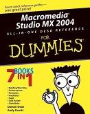 Macromedia Studio MX 2004 All-in-One Desk Reference For Dummies (eBook, PDF)