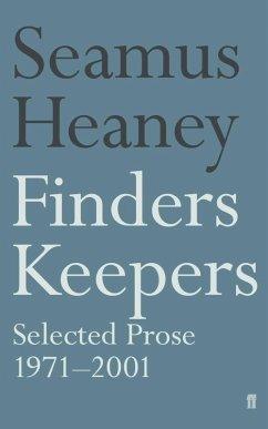 Finders Keepers (eBook, ePUB) - Heaney, Seamus