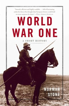 World War One (eBook, ePUB) - Stone, Norman