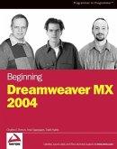 Beginning Dreamweaver MX 2004 (eBook, PDF)