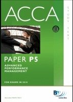 ACCA Paper P5 - Advanced Performance Management Study Text (eBook ...
