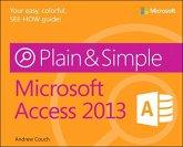 Microsoft Access 2013 Plain & Simple (eBook, PDF)