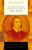 The Complete Poetry and Selected Prose of John Donne (eBook, ePUB)