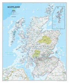 National Geographic Map Scotland Classic, Planokarte