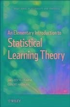 An Elementary Introduction to Statistical Learning Theory (eBook, PDF)