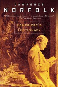 Lemprière's Dictionary (eBook, ePUB)