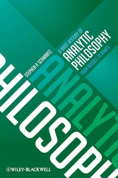 A Brief History of Analytic Philosophy (eBook, ePUB) - Schwartz, Stephen P.