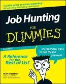 Job Hunting For Dummies (eBook, ePUB)