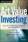 The Art of Value Investing (eBook, ePUB)