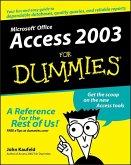 Access 2003 For Dummies (eBook, ePUB)