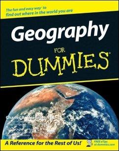 Geography For Dummies (eBook, ePUB) - Heatwole, Charles A.