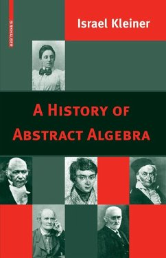 A History of Abstract Algebra (eBook, PDF) - Kleiner, Israel