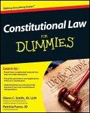 Constitutional Law For Dummies (eBook, ePUB)