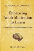 Enhancing Adult Motivation to Learn (eBook, ePUB)
