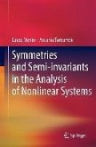 Symmetries and Semi-invariants in the Analysis of Nonlinear Systems (eBook, PDF)