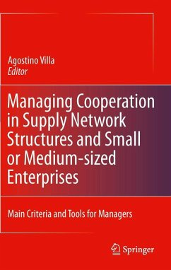 Managing Cooperation in Supply Network Structures and Small or Medium-sized Enterprises (eBook, PDF)