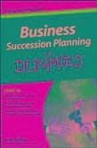 Business Succession Planning For Dummies (eBook, PDF)